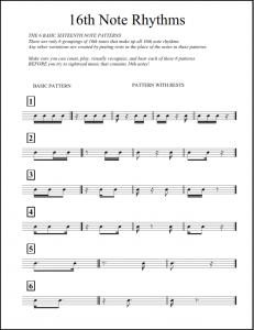 16th Note Rhythms