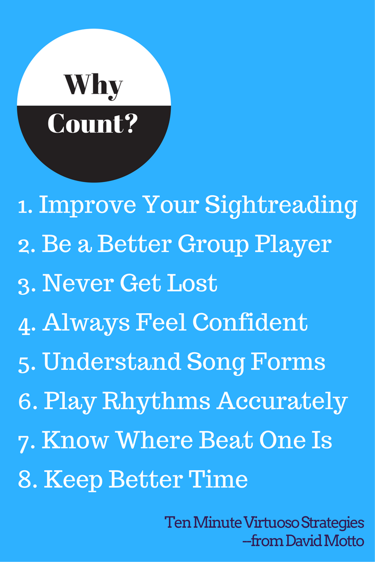 Why Count? 8 Ways Counting Makes You a Better Musician
